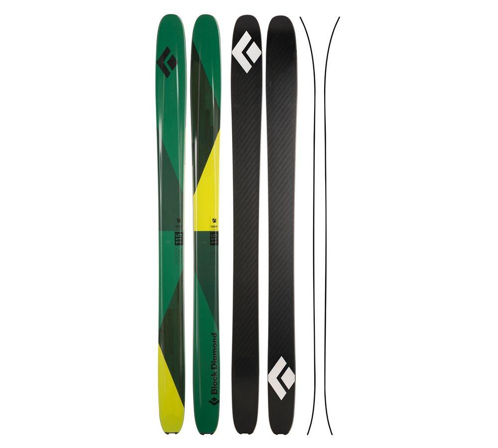 Горные лыжи Black Diamond Boundary 115