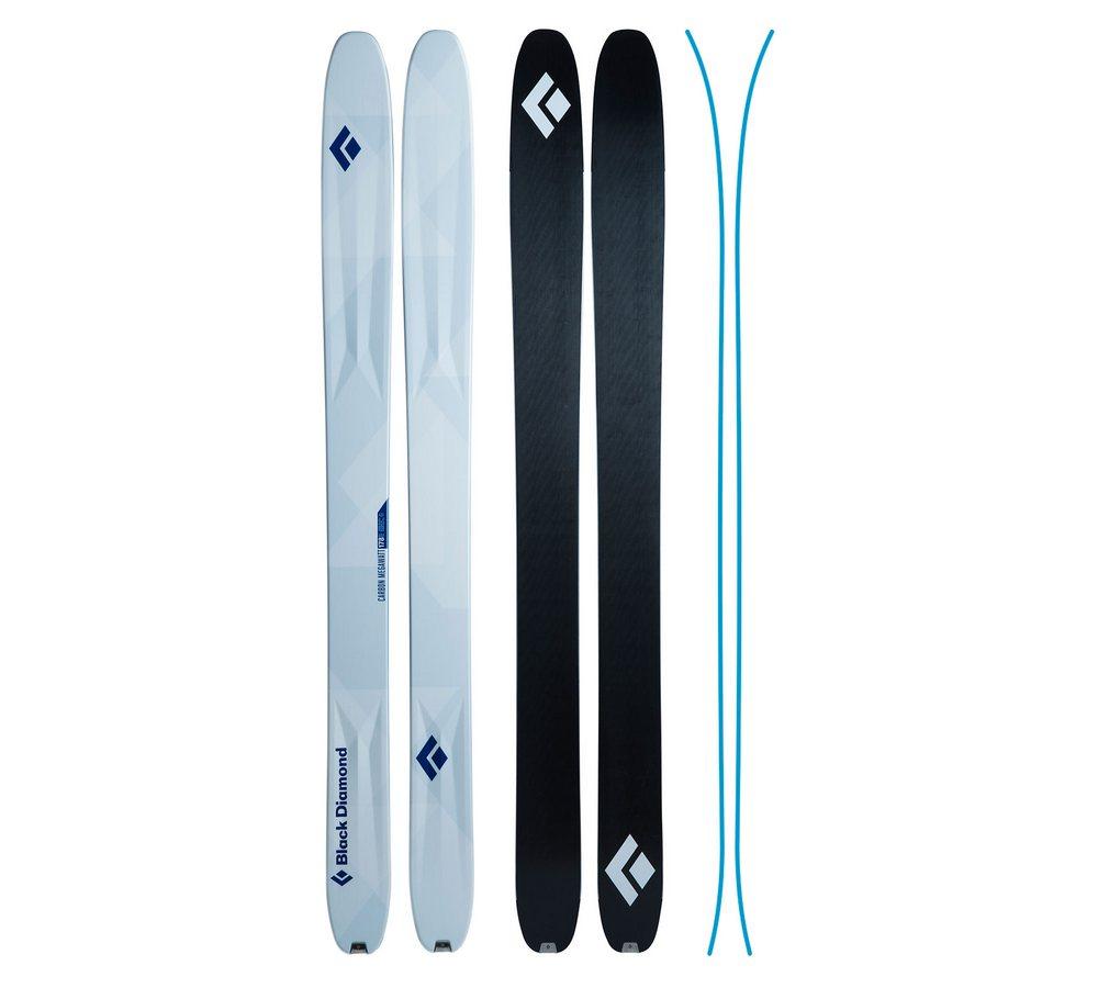 Горные лыжи Black Diamond Carbon Megawattt